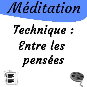Méditation, la technique de la respiration